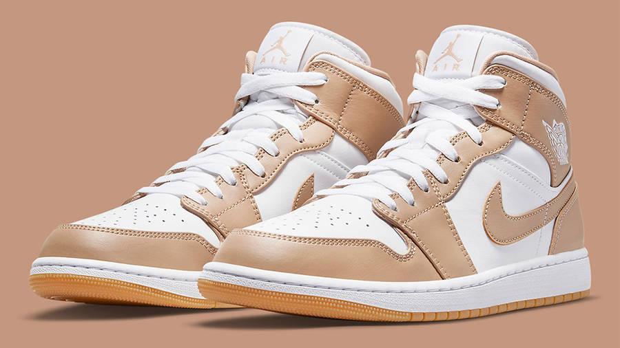 Air Jordan 1 Mid Tan Gum | Where To Buy | 554724-271 | Ietp