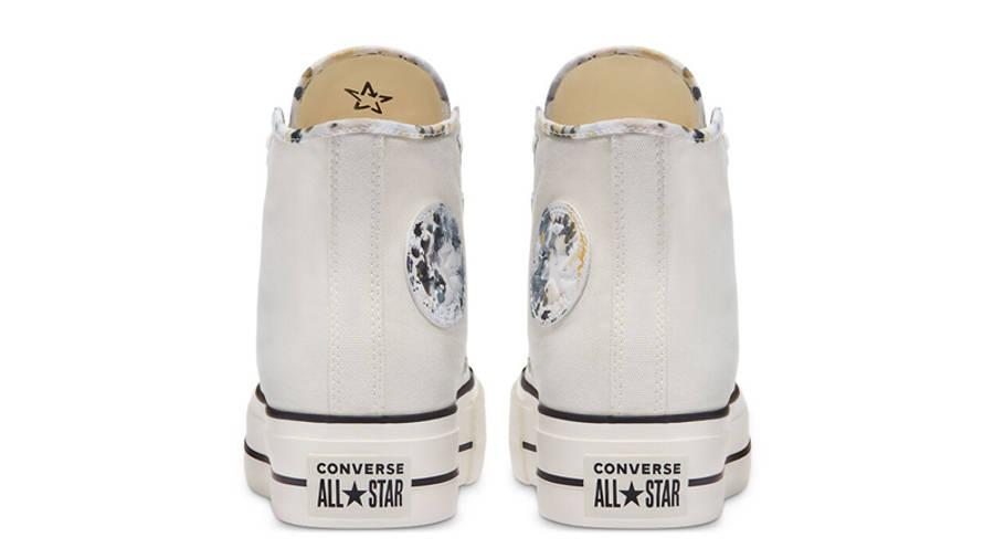 Converse Chuck Taylor All Star Festival Platform Hi Egret Back