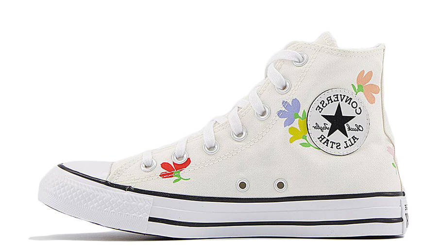 Converse Chuck Taylor All Star Hi Garden Print Egret