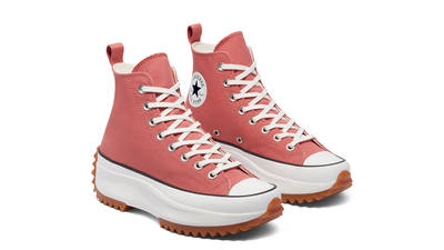 Converse Run Star Hike Colour High Terracotta Pink Front