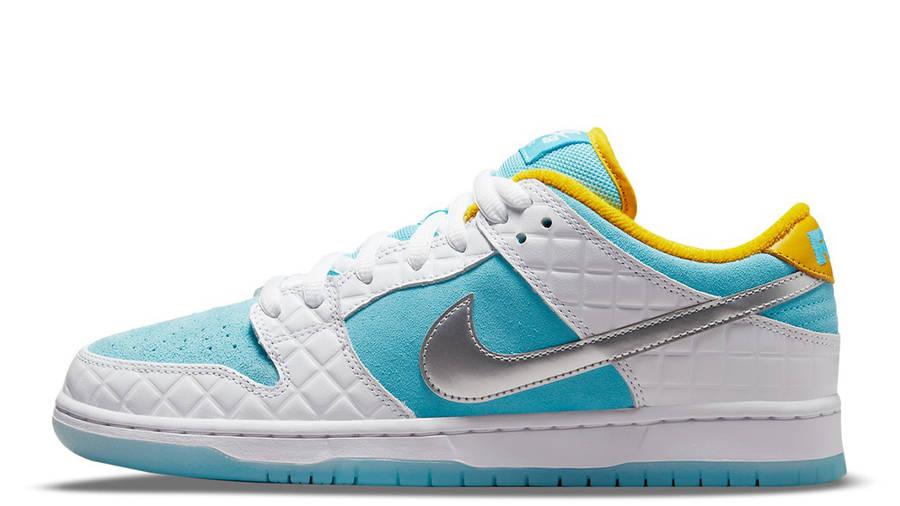 FTC x Nike SB Dunk Low White Blue