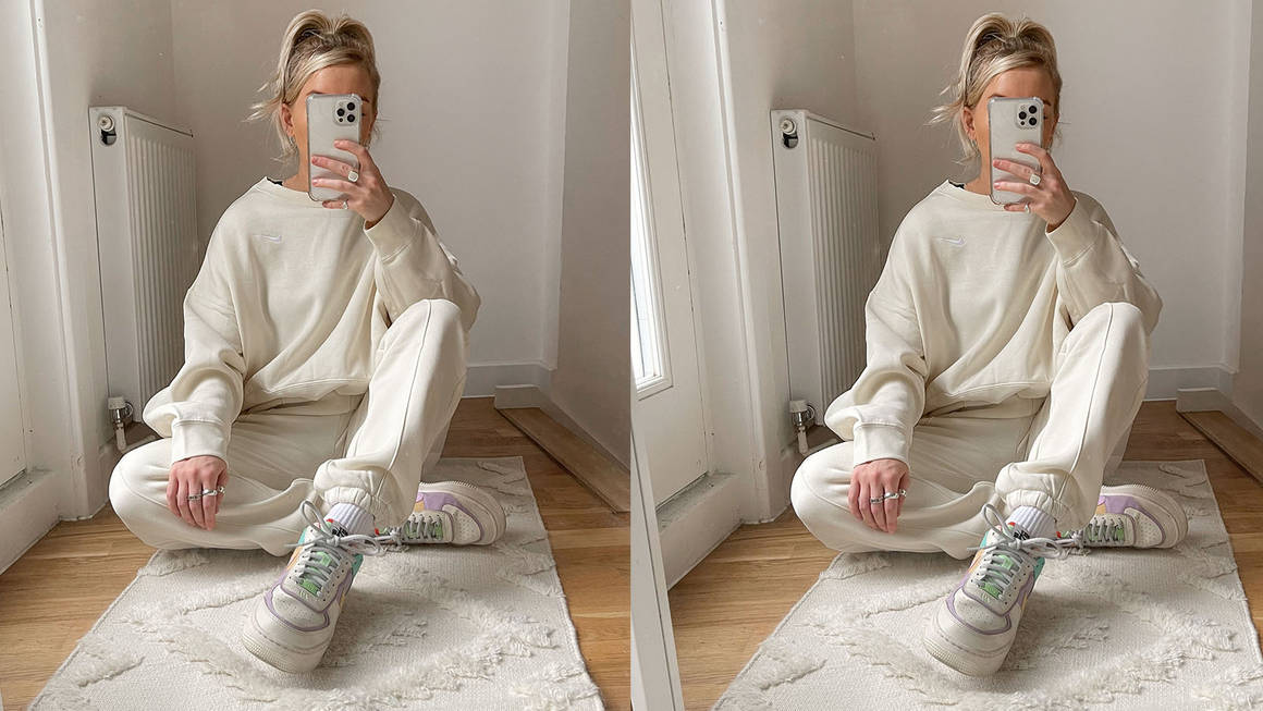 Kelly cream tracksuit nike sale