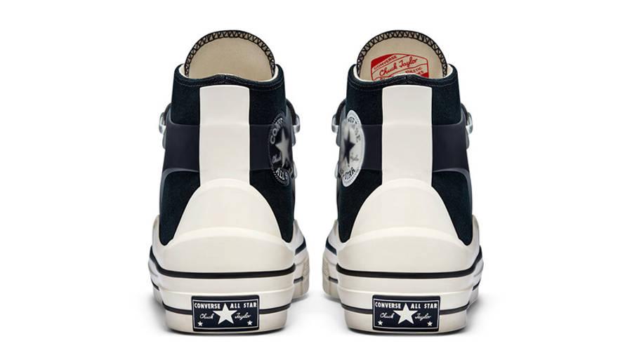 Kim Jones x Converse Chuck 70 High Black Back
