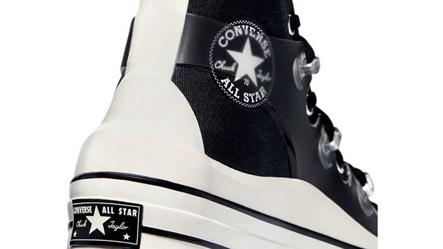 Kim Jones x Converse Chuck 70 High Black Closeup