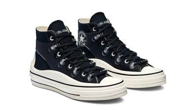 Kim Jones x Converse Chuck 70 High Black Front