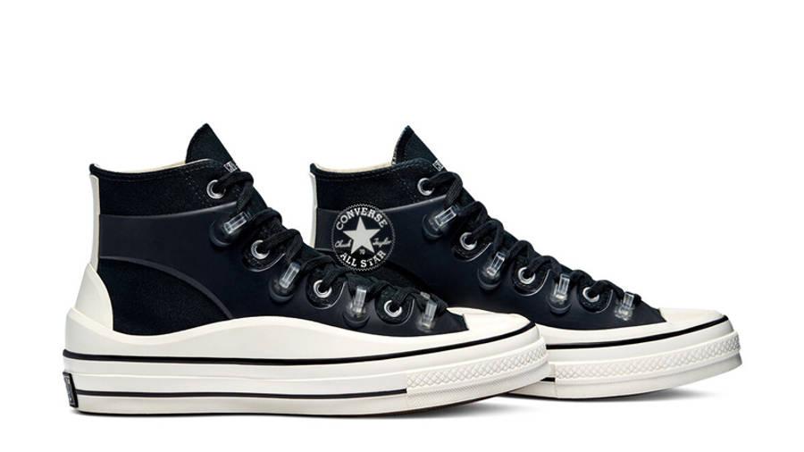 Kim Jones x Converse Chuck 70 High Black Side