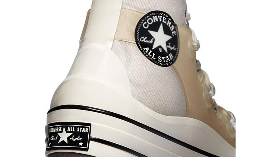 Kim Jones x Converse Chuck 70 High Natural Ivory Closeup