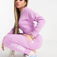 Nike Air Fleece Pants Violet Purple