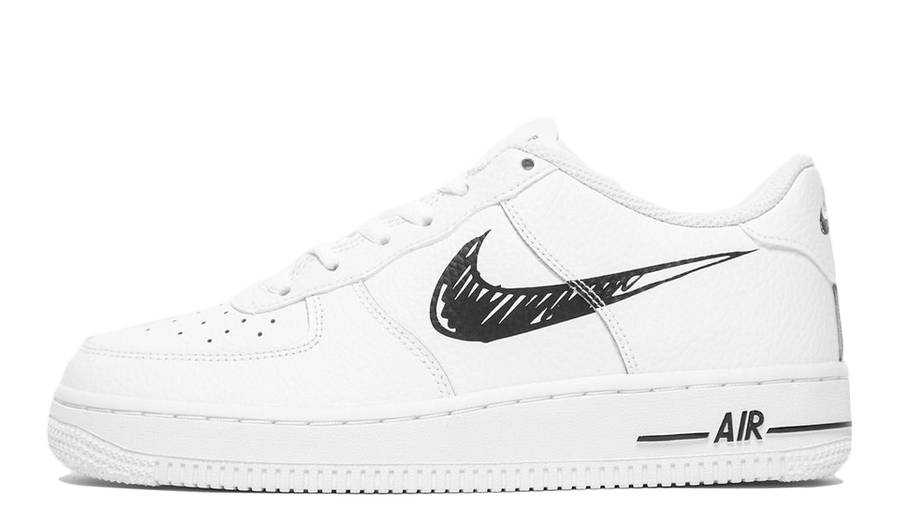 Nike Air Force 1 Low GS Sketch White | Where To Buy | DM3177-100 ...