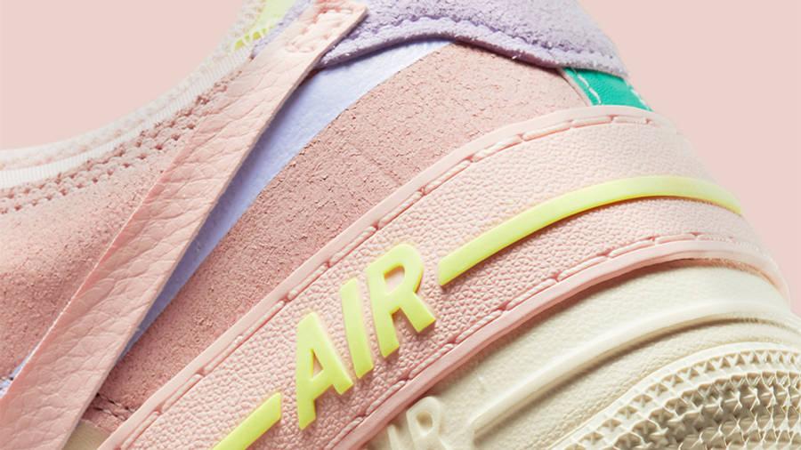 Nike Air Force 1 Shadow Cashmere Closeup