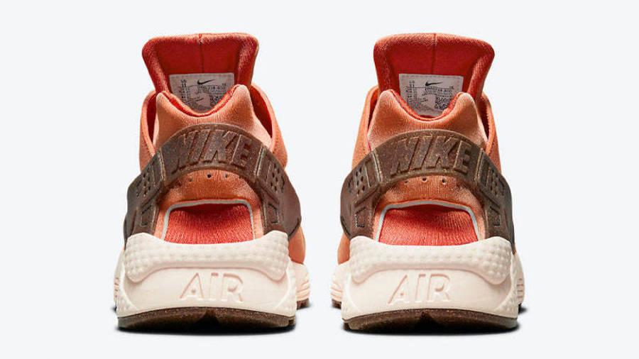 Nike Air Huarache Turf Orange Back