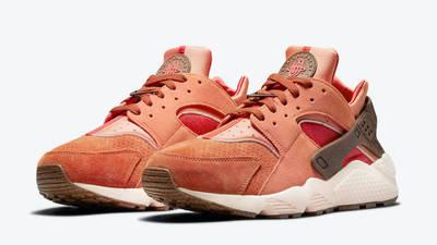 Nike Air Huarache Turf Orange Front