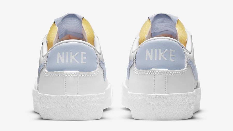 Nike Blazer Low 77 White Ghost Back