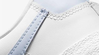Nike Blazer Low 77 White Ghost Closeup