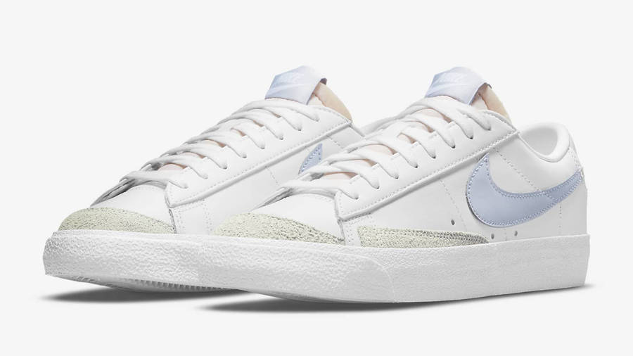 Nike Blazer Low 77 White Ghost Front
