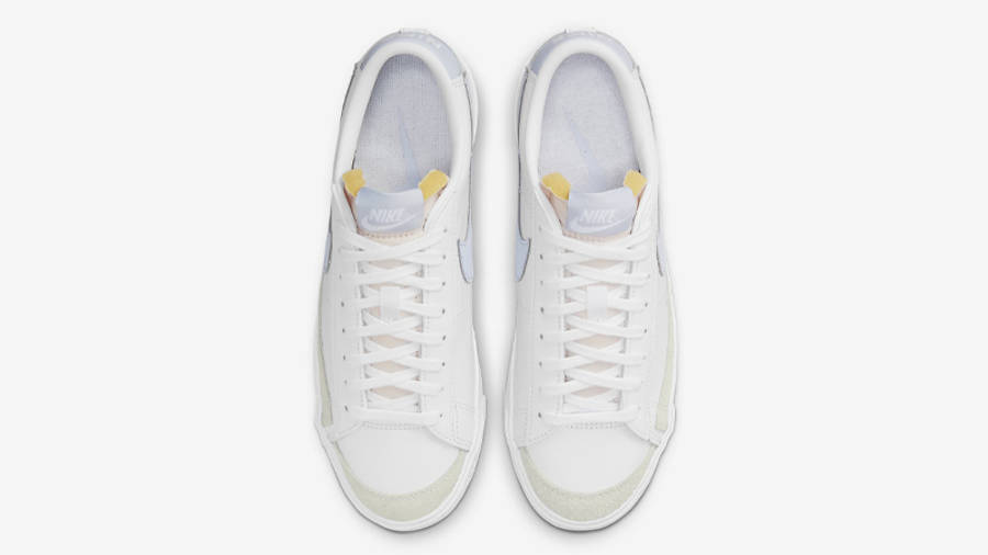 Nike Blazer Low 77 White Ghost Middle