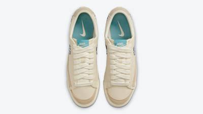 Nike Blazer Low Paisley Swoosh Middle