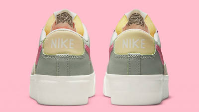 Nike Blazer Low Platform Seafoam Back
