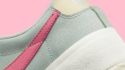Nike Blazer Low Platform Seafoam Closeup