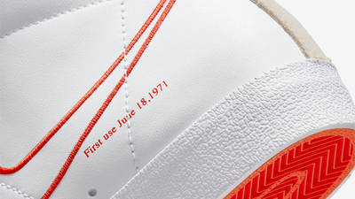 Nike Blazer Mid 77 First Use Closeup