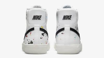 Nike Blazer Mid GS Paint Splatter Back