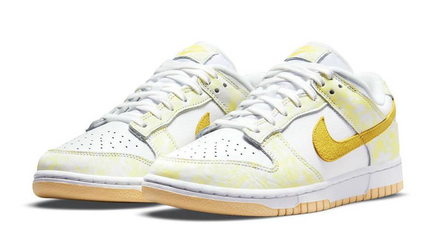 Nike Dunk Low Yellow Strike Front