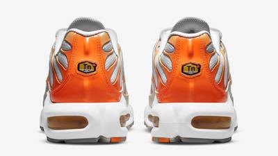 Nike TN Air Max Plus White Atomic Orange Back