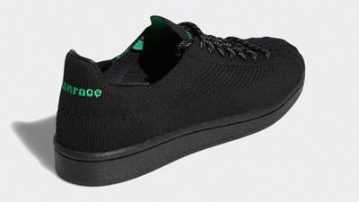 Pharrell x adidas Superstar Primeknit Core Black Back