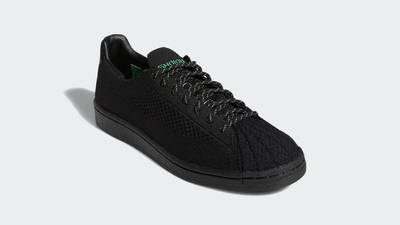 Pharrell x adidas Superstar Primeknit Core Black Front