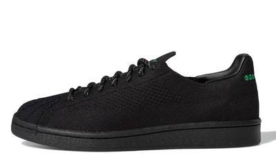 Pharrell x adidas Superstar Primeknit Core Black