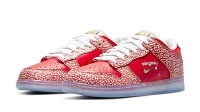 Stingwater x Nike SB Dunk Low Magic Mushroom Front