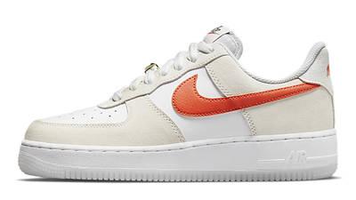 Nike Air Force 1 Low First Use White Orange DA8302-101