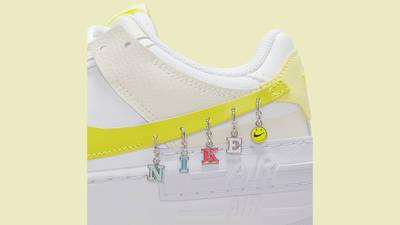 Nike Air Force 1 Shadow Yellow DJ5197-100 Detail Side