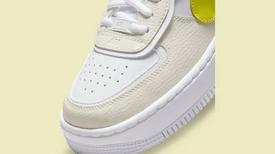 Nike Air Force 1 Shadow Yellow DJ5197-100 Detail