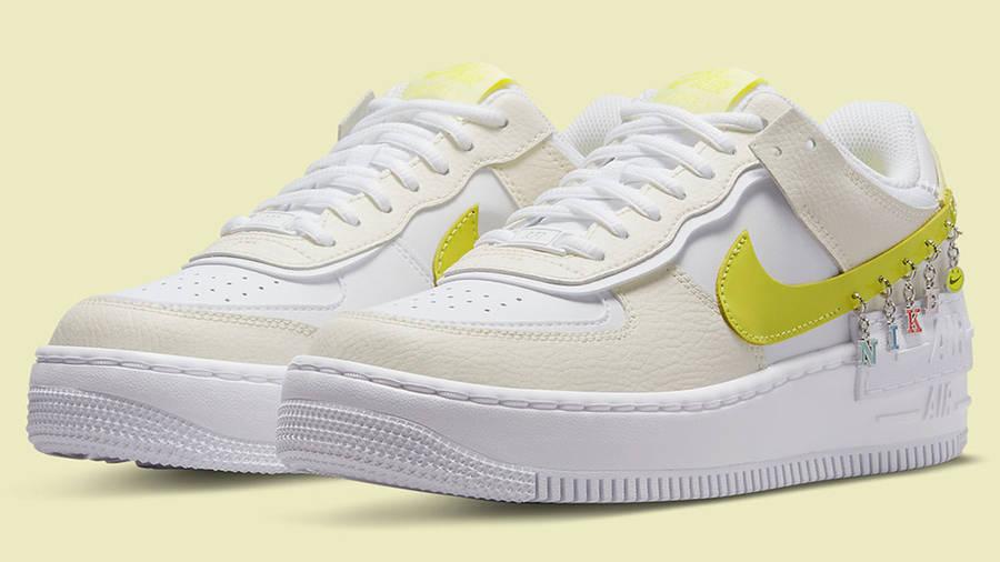 Nike Air Force 1 Shadow Yellow DJ5197-100 Side