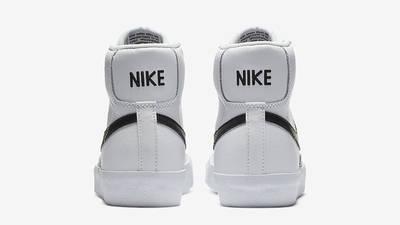 Nike Blazer Mid 77 GS White Team Orange DA4086-100 Back