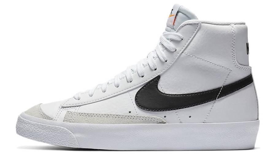 Nike Blazer Mid 77 GS White Team Orange DA4086-100