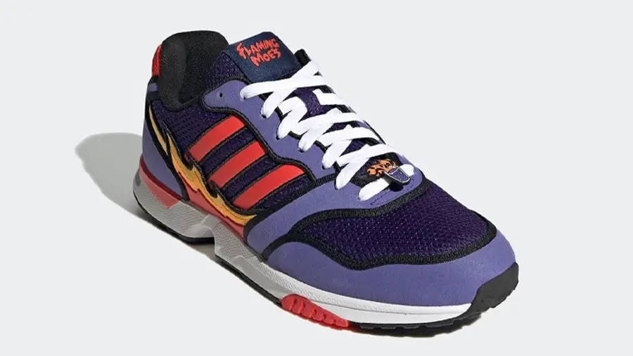The Simpsons x adidas ZX 1000 Flaming Moes H05790 Side 2