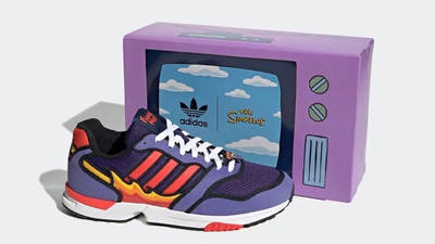 The Simpsons x adidas ZX 1000 Flaming Moes H05790 Side
