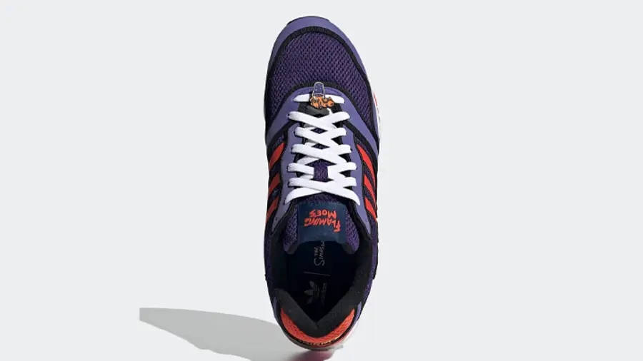 The Simpsons x adidas ZX 1000 Flaming Moes H05790 Top