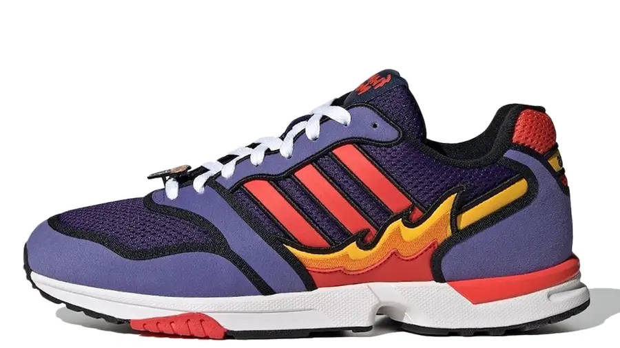 The Simpsons x adidas ZX 1000 Flaming Moes H05790