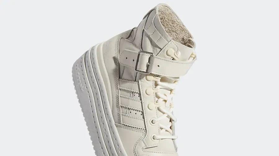 adidas Triple PlatForum Hi Off White S42803 Detail