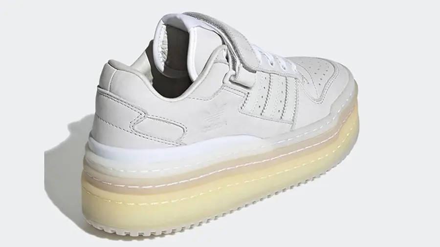 adidas Triple PlatForum Low Crystal White GZ8644 Back