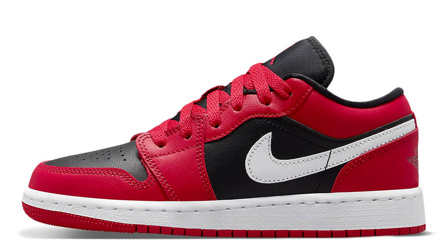 Air Jordan 1 Low GS Black Very Berry 553560-061