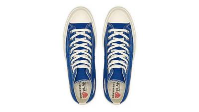 Comme des Garcons Play x Converse Chuck 70 Hi Blue Quartz 171846C Top