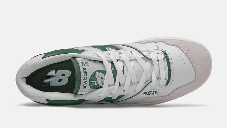 New Balance 550 White Green Middle