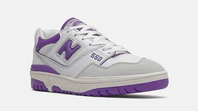 New Balance 550 White Purple Front