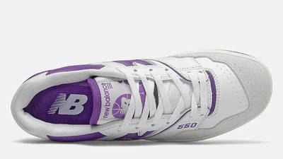 New Balance 550 White Purple Middle