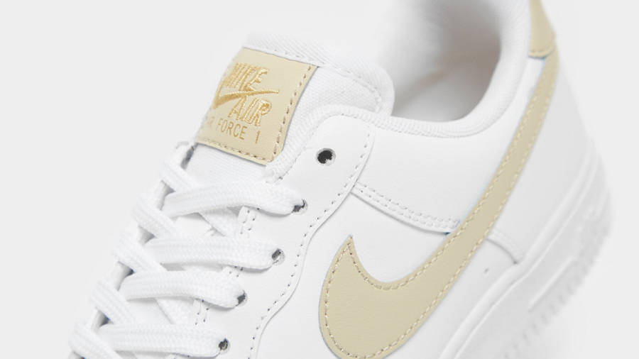 Nike Air Force 1 Essential White Gold | Where To Buy | undefined ...
