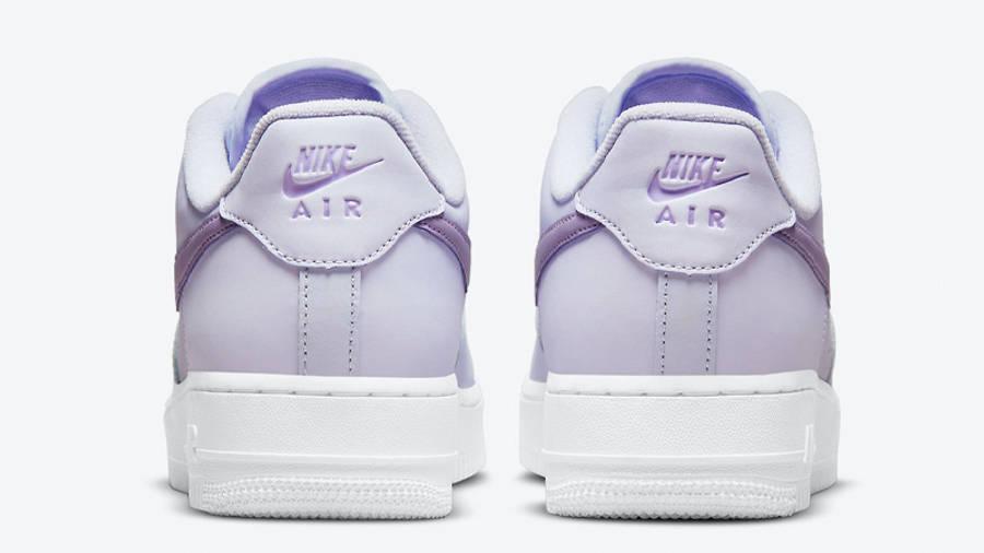 Nike Air Force 1 Low Lavender Back
